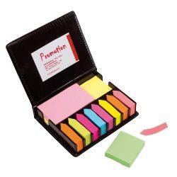 Set notite adezive, Everestus, 20IAN1556, Negru, Plastic, PVC, Hartie