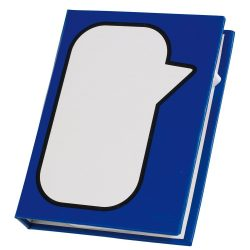 Cutie memo SPEECH BUBBLE, albastru