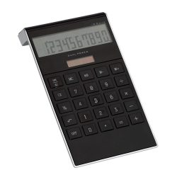 Calculator de birou digital, Everestus, 20IAN1181, Negru, Plastic