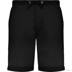 Pantaloni scurti, Unisex, Spiro, poliester/bumbac, negru, L