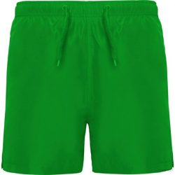 Bermude pentru plaja, Barbati, Aqua, poliester, verde tei, L