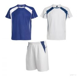 Echipament sportiv, Unisex, Salas, poliester, royal/alb, XL