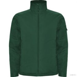 Geaca matlasata din material foarte rezistent, Unisex, Utah, poliester, verde sticla, M