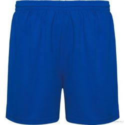 Pantalon scurt sport fara slip interior, Unisex, Player, poliester, albastru royal , M