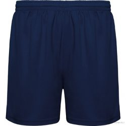 Pantalon scurt sport fara slip interior, Unisex, Player, poliester, bleumarin, L