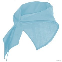 Esarfa triangulara, Unisex, Jaranero, poliester, albastru celest, Unica