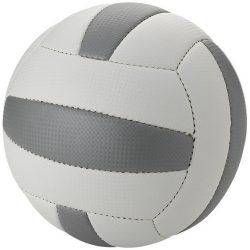 Nitro size 5 beach volleyball, PU foam, White,Grey