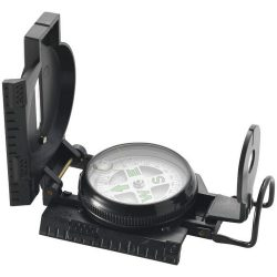 Direx compass, Plastic, solid black