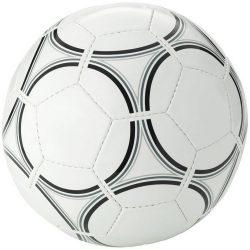 Minge de fotbal, marime 5, 32 paneluri, 2 layere, Everestus, VY01, pvc, alb, negru, desfacator de sticle inclus