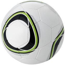Minge de fotbal, marime 4, Everestus, HR01, pvc, alb, negru, desfacator de sticle inclus