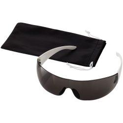 Ochelari de soare, Everestus, OSSG099, plastic, negru, alb, laveta inclusa