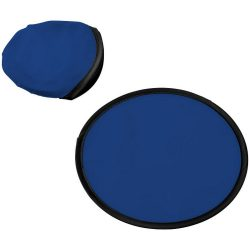 Florida frisbee with pouch, 210D polyester, Blue