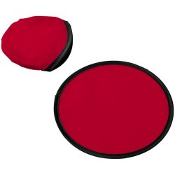 Florida frisbee with pouch, 210D polyester, Red