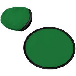 Florida frisbee with pouch, 210D polyester, Green