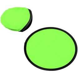 Florida frisbee with pouch, 210D polyester, Lime