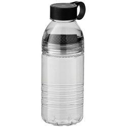 Sticla sport 600 ml cu filtru pentru fructe, fara BPA, Everestus, SE02, tritan, negru, gri