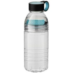 Sticla sport 600 ml cu filtru pentru fructe, fara BPA, Everestus, SE01, tritan, albastru deschis