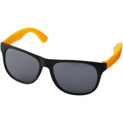 Ochelari de soare retro, Everestus, OSSG127, plastic, portocaliu, negru