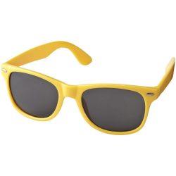 Ochelari de soare retro, Everestus, OSSG215, plastic, galben