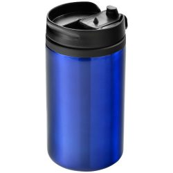 Mojave 300 ml insulated tumber, Stainless steel and PP plastic, Blue