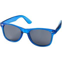 Ochelari de soare cu rama din cristal, Everestus, OSSG216, plastic, albastru, laveta inclusa