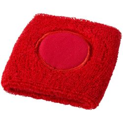 Hyper performance wristband, Cotton, Red