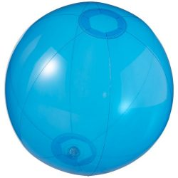 Ibiza transparent beach ball, PVC, Transparent blue