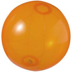 Ibiza transparent beach ball, PVC, Transparent orange