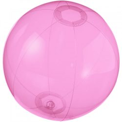 Minge de plaja gonflabila transparenta, Everestus, 20FEB1162, PVC, Roz
