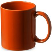 Santos 330 ml ceramic mug, Ceramic, Orange