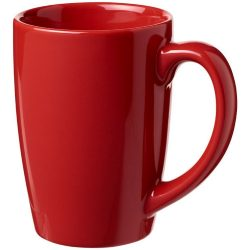 Medellin 350 ml ceramic mug, Ceramic, Red