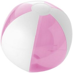 Bondi inflatable beach ball, PVC, Pink,White