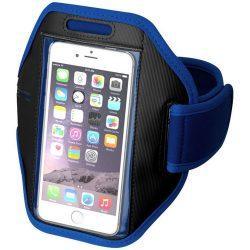 Gofax touchscreen smartphone armband, Polyester, Royal blue