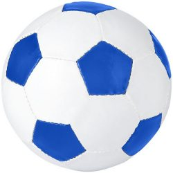 Curve size 5 football, PVC, White,Royal blue