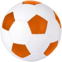 Minge de fotbal, marime 5, Everestus, CE05, pvc, portocaliu, desfacator de sticle inclus