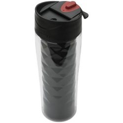 Traverse 475 ml Tritan™ 2-in-1 insulated tumbler, BPA-free Eastman Tritan™ Material exterior and stainless steel interior, solid black