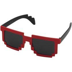 Ochelari de soare cu aspect de pixel, Everestus, OSSG134, policarbonat, negru, rosu