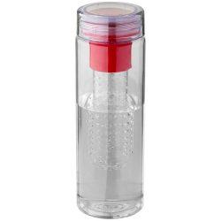 Sticla sport 740 ml cu infuzor, Everestus, FN, bpa free, tritan, transparent, rosu