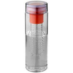 Sticla sport 740 ml cu infuzor, Everestus, FN, bpa free, tritan, portocaliu, saculet de calatorie inclus