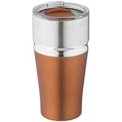Milo 590 ml copper vacuum insulated tumbler, Stainless steel, copper