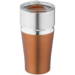 Cana termoizolanta 590 ml, perete dublu, fara condens, Everestus, MO, otel inoxidabil, cupru, saculet de calatorie inclus