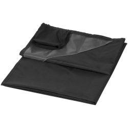 Patura de exterior 110x140 cm, rezistenta la apa, Everestus, SW02, 290T poliester, negru, saculet de calatorie inclus