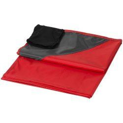 Patura de exterior 110x140 cm, rezistenta la apa, Everestus, SW03, 290T poliester, rosu, saculet de calatorie inclus