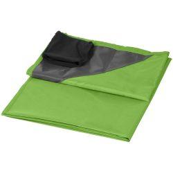 Patura de exterior 110x140 cm, rezistenta la apa, Everestus, SW04, 290T poliester, verde, saculet de calatorie inclus