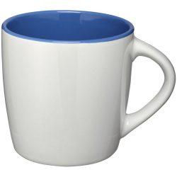 Cana ceramica 340 ml, Everestus, 20IAN1107, Alb, Albastru Royal