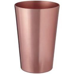 Pahar 400 ml, finisaj modern, Everestus, 20IAN2252, Galben, Aluminiu
