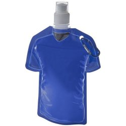 Goal 500 ml football jersey water bag, PET, PE and PP plastic, Blue
