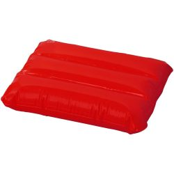 Wave inflatable pillow, PVC, Red