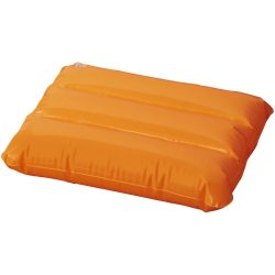 Wave inflatable pillow, PVC, Orange