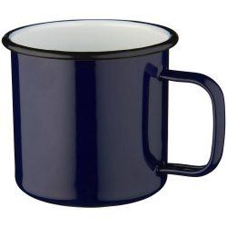 Campfire mug, Enamel, Blue